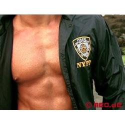 Polizei-Jacke