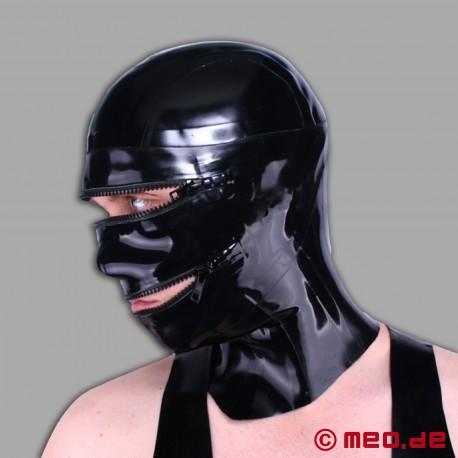 Masque en latex posture