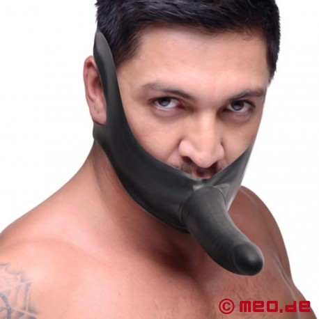 Face Fuck Strap-On-Maske