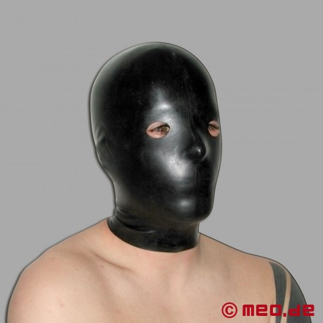 Latex mask - for a bizarre expression