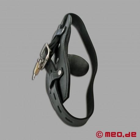 Lockable BDSM gag