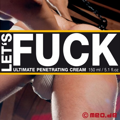 LET's FUCK ULTIMATE Penetrating (Fuck+Fist+Play) Cream