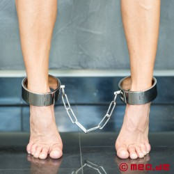 """Black Berlin"" Ankle Shackles"