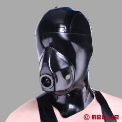 Maschera con sacchetto di respirazione