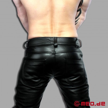 Ultra Fit Leather Jeans