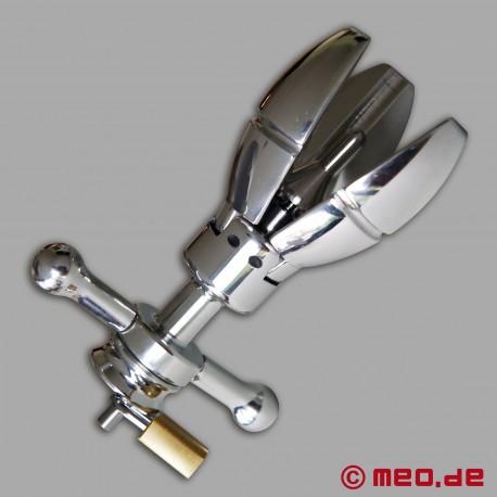 Butt Plug élargissable et fermant à clé