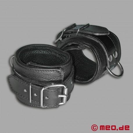 Handfesseln aus Leder - MEO® Vintage-Edition