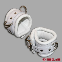 Ankle Restraints - Casablanca White