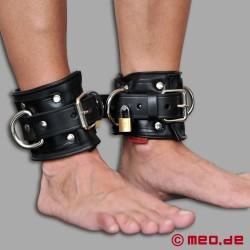 Manette per caviglie San Francisco, richiudibili, realizzati in pelle