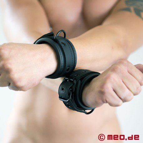 BDSM neoprene wrist cuffs