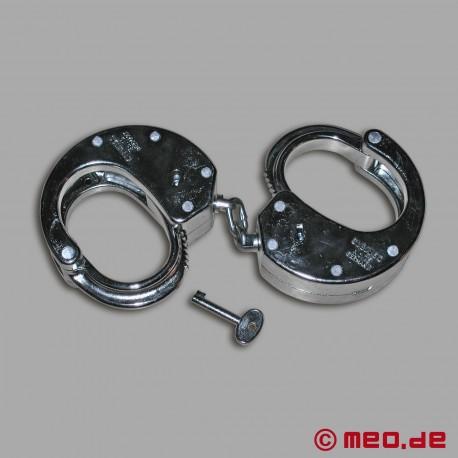 Clejuso 15 Polizei Handschellen -extra schwer-