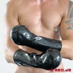 Gants bondage en latex