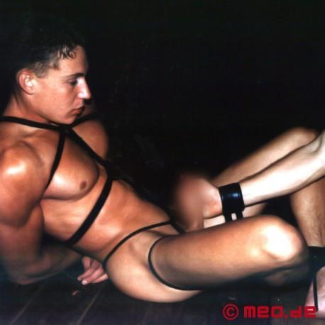 Corde de bondage de qualité professionnelle - Corde noire