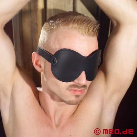 "Bandeau en cuir ""Black Dream"" - MEO Bondage Edition"