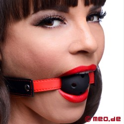 "Breathable Ball Gag ""Subdue Me"""
