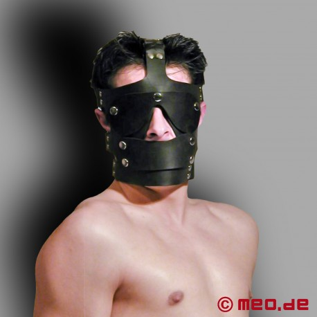Head Harness for Submissive Latex Slaves