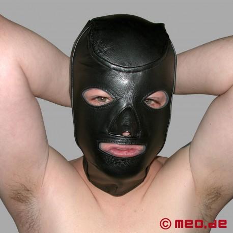 Maschera in pelle Bondage