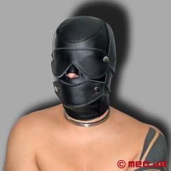 Maschera Bondage in pelle