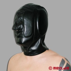Deprivation Leather Hood