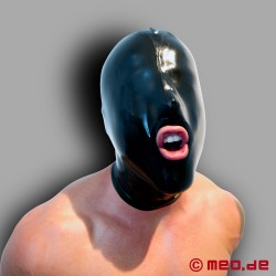 Maschera Blowjob in lattice - Mouth Fuck Hood DeLuxe