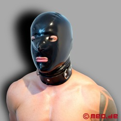 Latexmaske - MEO BLACK