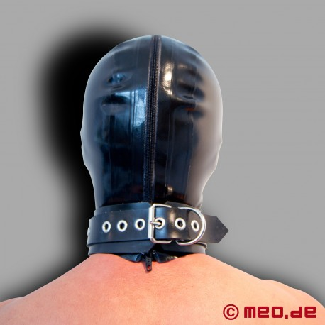 Latex Mask - MEO black