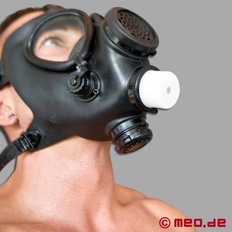 Controllo del respiro - BDSM - Riduttore d'aria per maschere antigas