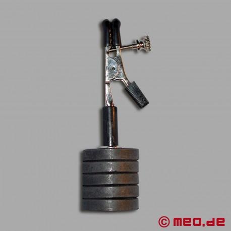 Magnetische Nippelklemme mit Gewichten
