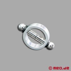 Pinces à tétons magnétiques