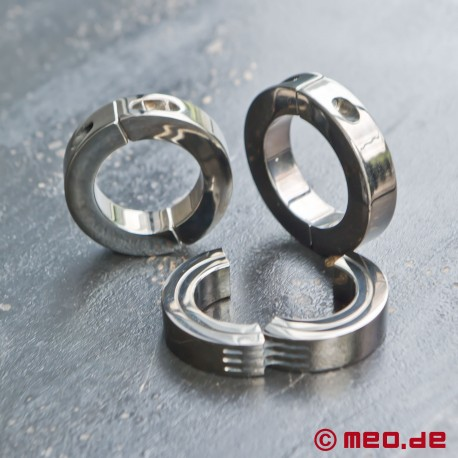 Quick & Hard Cock Ring with hinge