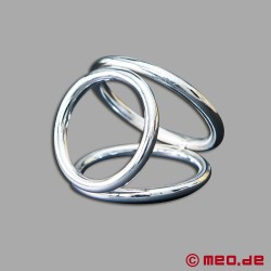 Dreifacher Cockring Triple Cock Ring