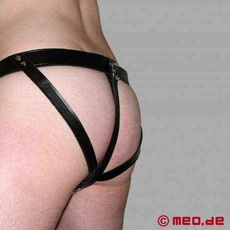Leather Chastity Belt