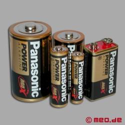Batterien von Panasonic / 9Volt Block (6LR61)