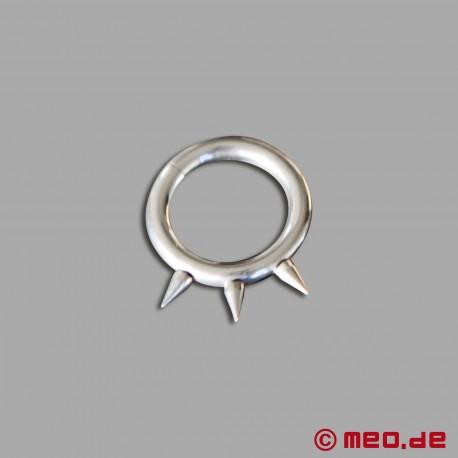 Spiky Nippel-Piercing-Ringe