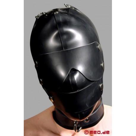Maschera in lattice per il Bondage