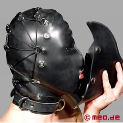 Rubber Mask Hood