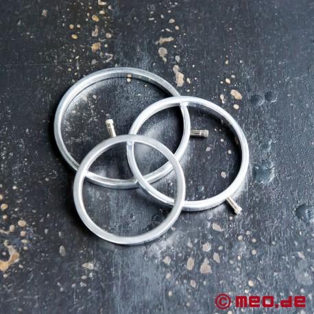 Zusatz-Set Elektro-Hoden-Ringe (3er)