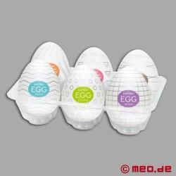 Tenga Egg - Confezione da 6 uova diverse