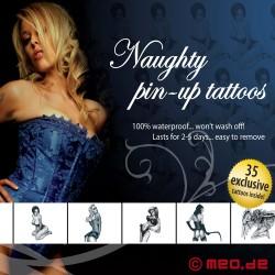 Tattoo Set - Naughty Pin-Up