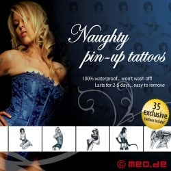 Tattoo Set MEO - Naughty Pin-Up