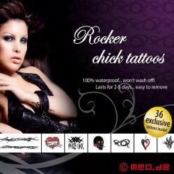 Kit de tatouages – Pour les salopes d'un soir - Rocker Chick
