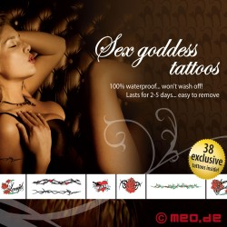 Tattoo Set – For Bad Girls - Sex Goddes