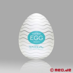 Tenga - Egg Wavy (6 Pieces)