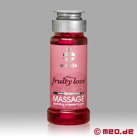 Swede - Fruity Love Massageöl - Sparkling Strawberry
