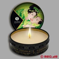 Massagekerze Shunga - Grüner Tee