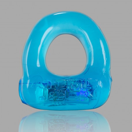Lumo LED Stretch Cockring - Glace bleue