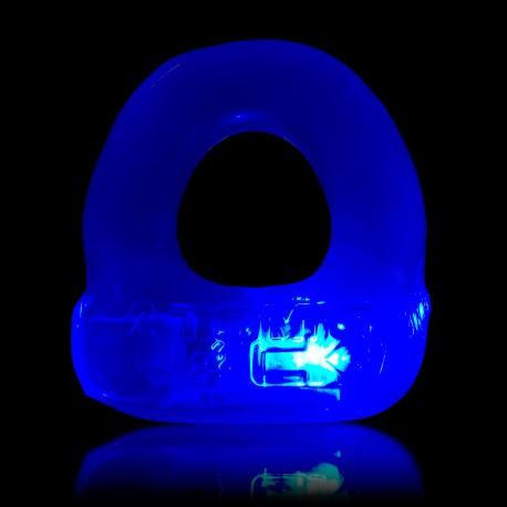 Lumo LED Stretch Cockring - Ice Blue