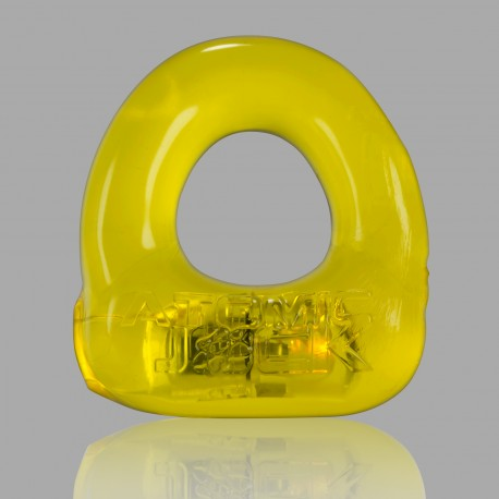 Lumo LED Stretch Cockring - Yellow