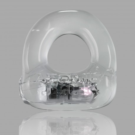 Lumo LED Stretch Cockring - Clear