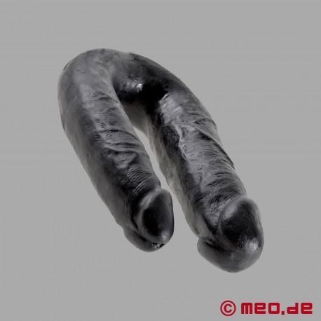 Schwarzer Doppeldildo